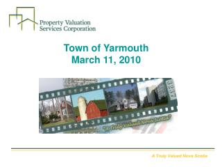 Town of Yarmouth  March 11, 2010