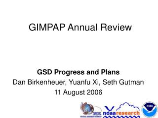 GIMPAP Annual Review
