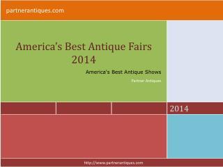 America's Best Antiques Fairs 2014