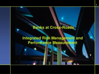 Integrated Risk Management and  Performance Measurement
