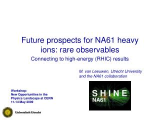 Future prospects for NA61 heavy ions: rare observables