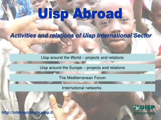 Activities and relations of Uisp International Sector