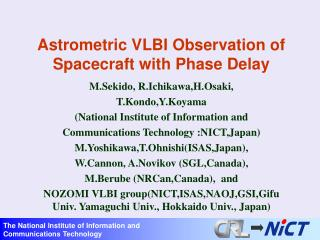 Astrometric VLBI Observation of Spacecraft with Phase Delay