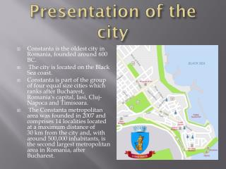Presentation of the city