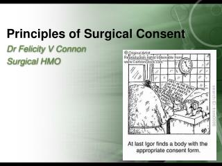 Principles of Surgical Consent
