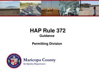 HAP Rule 372 Guidance Permitting Division