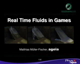 Real Time Fluids in Games