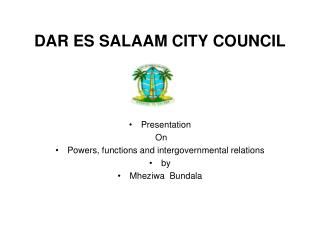 DAR ES SALAAM CITY COUNCIL