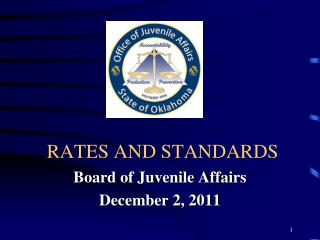 RATES AND STANDARDS