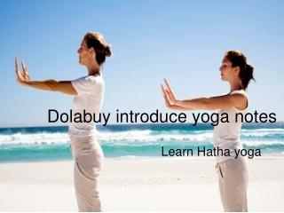 Dolabuy introduce yoga notes