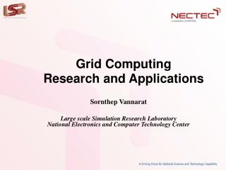 Grid Computing Research and Applications