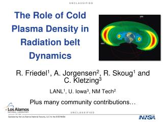 The Role of Cold Plasma Density in Radiation belt Dynamics