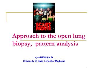 Approach to the open lung biopsy,  pattern analysis