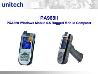 PA968II  PXA320 Windows Mobile 6.5 Rugged Mobile Computer