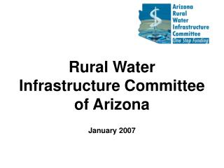 Rural Water Infrastructure Committee of Arizona
