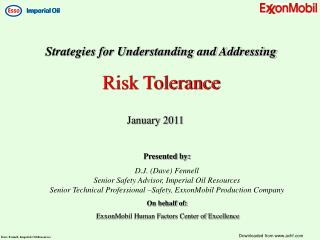 Strategies for Understanding and Addressing Risk Tolerance