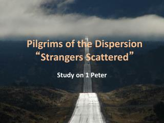 Pilgrims of the Dispersion  Strangers Scattered