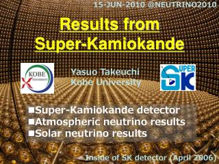 Results from  Super-Kamiokande