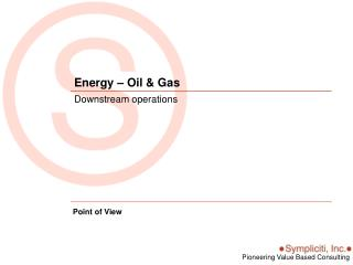 Energy – Oil & Gas