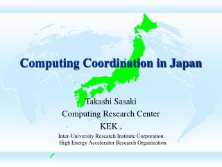 Computing Coordination in Japan