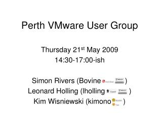 Perth VMware User Group