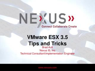 VMware ESX 3.5 Tips and Tricks