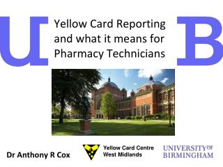 Yellow Card Reporting and what it means for Pharmacy Technicians