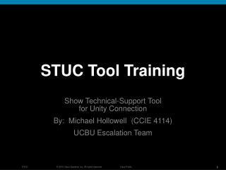 STUC Tool Training
