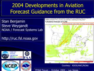 2004 Developments in Aviation Forecast Guidance from the RUC