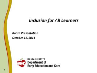 Inclusion for All Learners