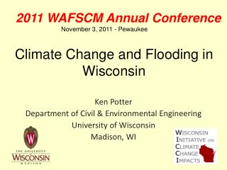 Climate Change and Flooding in Wisconsin