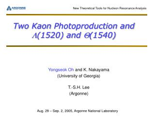 Two Kaon  Photoproduction and  L (1520) and  Q (1540)