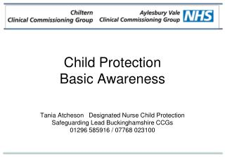 Child Protection  Basic Awareness