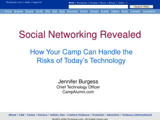 Social Networking Revealed