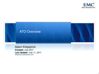 ATO Overview
