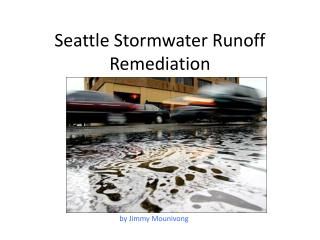 Seattle Stormwater Runoff Remediation