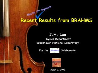 Recent Results from BRAHMS