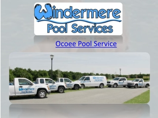 Ocoee Pool Service