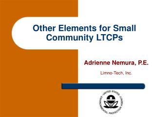 Other Elements for Small Community LTCPs