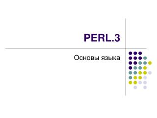 PERL.3