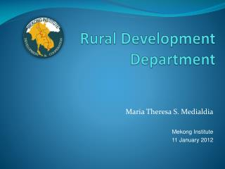 Rural Development Department