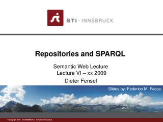 Repositories and SPARQL