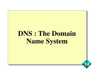 DNS : The Domain Name System