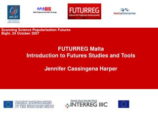 MARIS-FUTURREG  Exploring Regional Innovation Futures