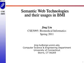 Semantic Web Technologies  and their usages in BMI