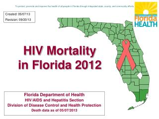 HIV Mortality in Florida 2012