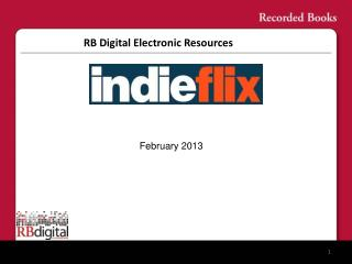 RB Digital Electronic Resources
