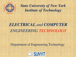 Department of Engineering Technology