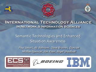 Semantic Technologies and Enhanced Situation Awareness