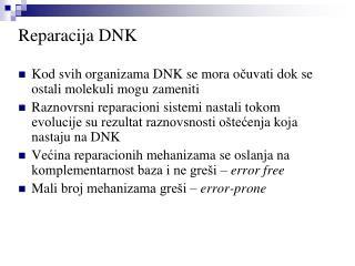 Reparacija  DN K